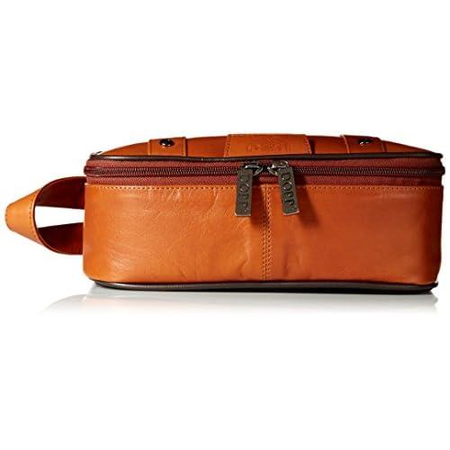 Dopp 04924 Veneto Top Zip Travel Kit, Tan