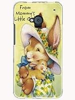 HTL22 ケース カバー HTC J One au キャラクター ポップイニシャルV