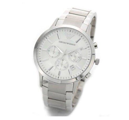 エンポリオアルマーニ 腕時計 メンズ AR2458 シルバー...