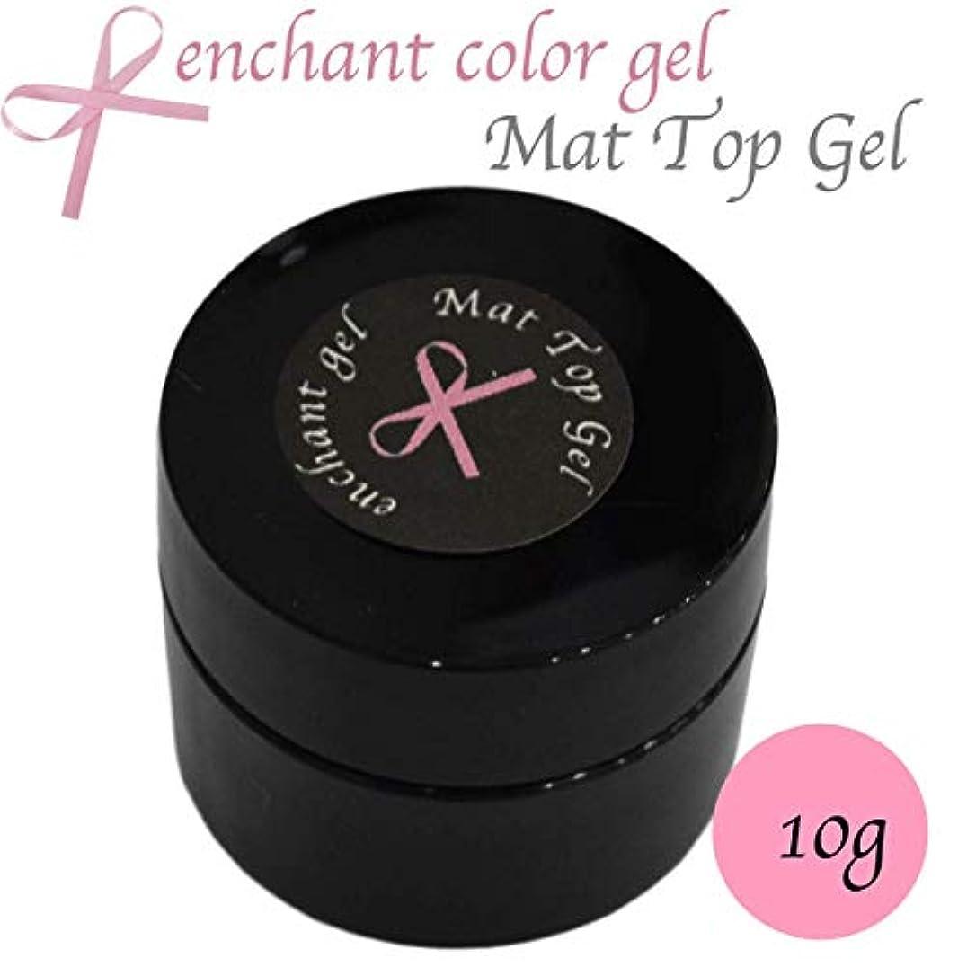 皿頭痛ありふれたenchant gel mat top coat gel 10g / エンチャントジェル マットトップコートジェル 10グラム