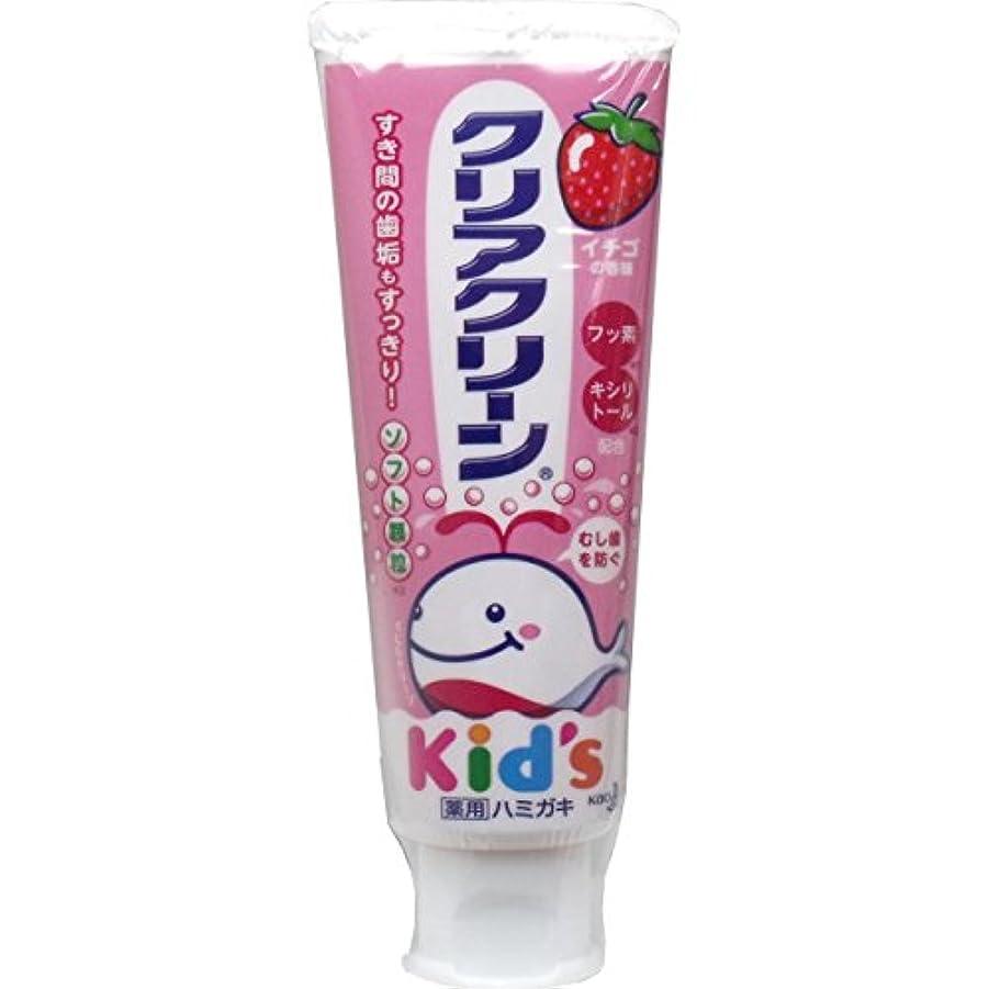 ありふれた弱まるアイスクリーム【花王】薬用クリアクリーンキッズ イチゴ 70g ×5個セット