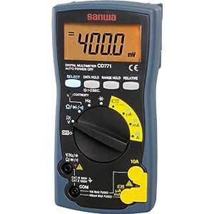SANWA デジタルマルチメータ バックライト搭載 CD771