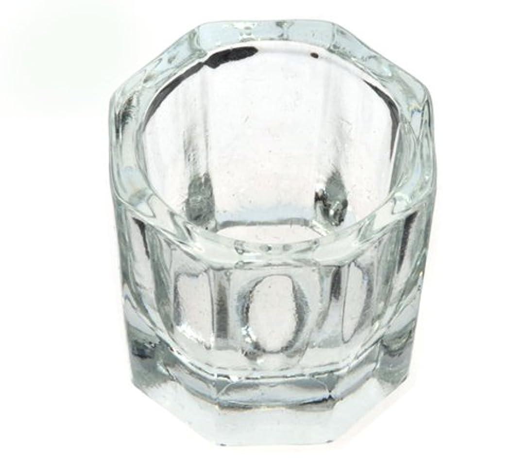 評論家約衝突コースダッペンディッシュ グラスディッシュ 筆洗い ガラス容器 ジェルネイル用筆洗浄