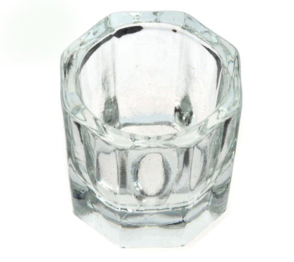 静めるイブ理論的ダッペンディッシュ グラスディッシュ 筆洗い ガラス容器 ジェルネイル用筆洗浄