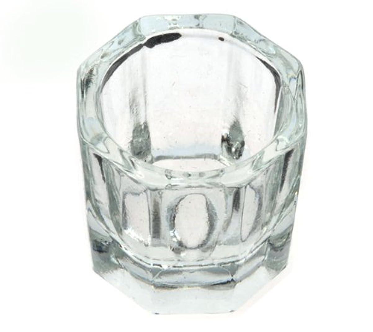 請求可能うれしい報酬のダッペンディッシュ グラスディッシュ 筆洗い ガラス容器 ジェルネイル用筆洗浄