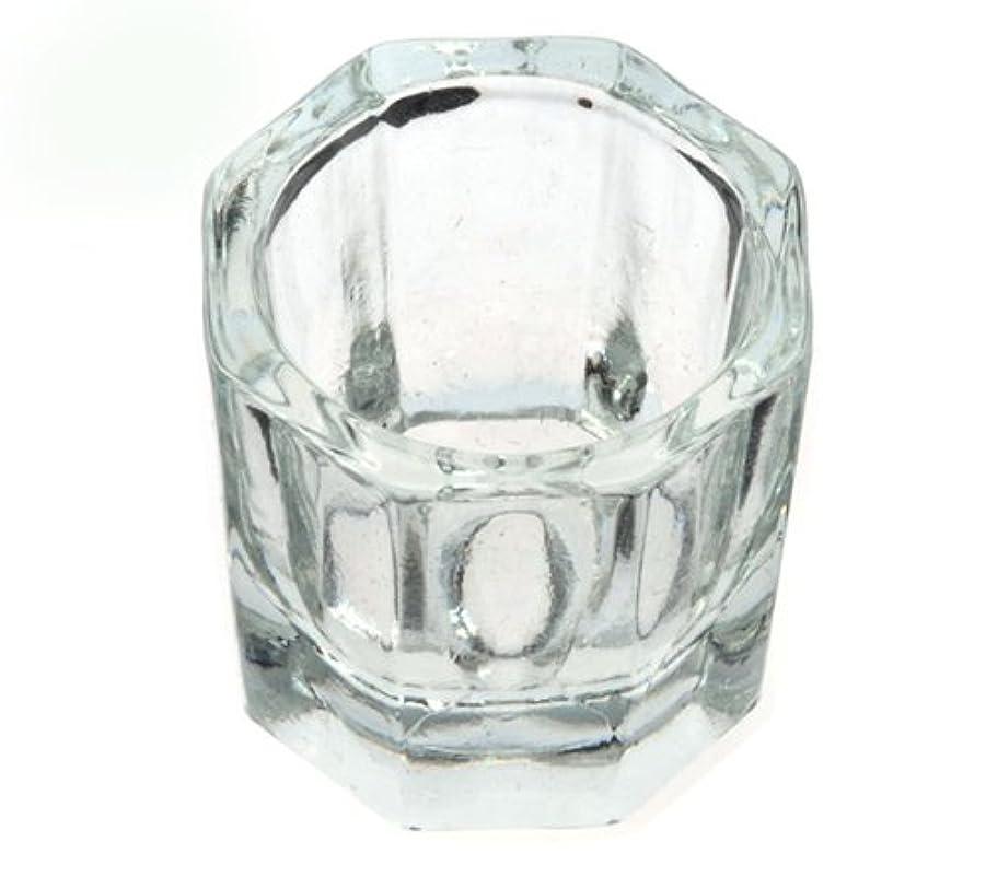 良心分数エッセイダッペンディッシュ グラスディッシュ 筆洗い ガラス容器 ジェルネイル用筆洗浄