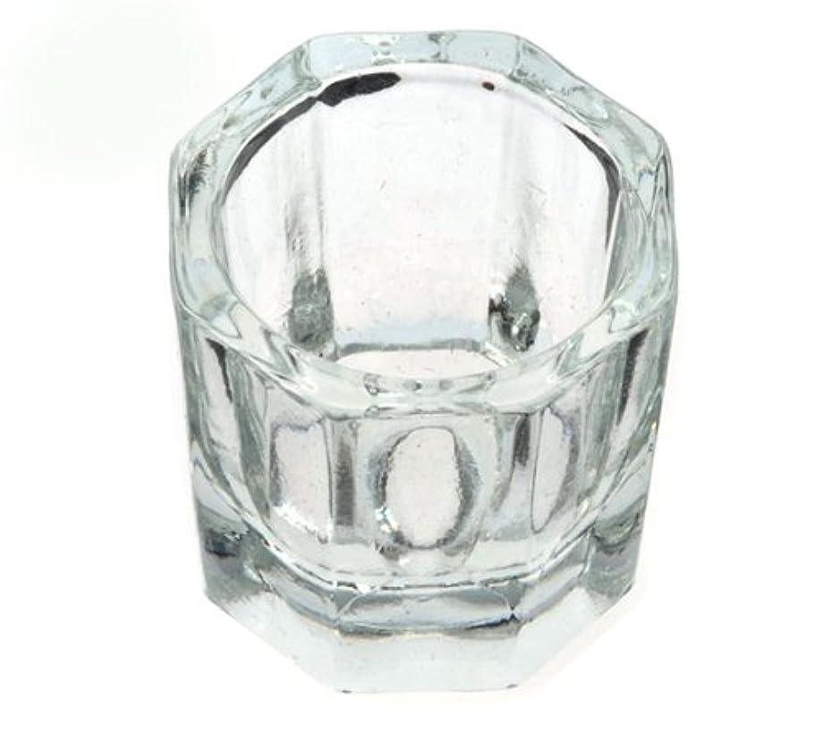 クロニクル丁寧絶対のダッペンディッシュ グラスディッシュ 筆洗い ガラス容器 ジェルネイル用筆洗浄