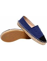 エスパドリーユ スリッポン 靴 フラットシューズ レディース靴 ココマーク 4色あり