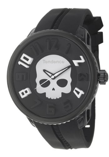 テンデンス (Tendence) ハイドロゲン Tendence 腕時計 50mm スカル ブラック 05023012 〔並行輸入品〕