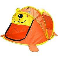 子供の遊びのテントトンネル赤ちゃん遊び屋屋内遊園地折りたたみしやすい (Color : Orange, Size : 76 * 96 * 182cm)