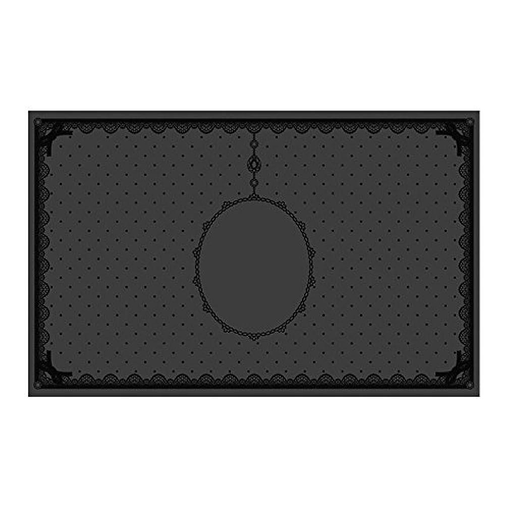 悪性の最小化する会計シリコンマット(表面コート)ブラック