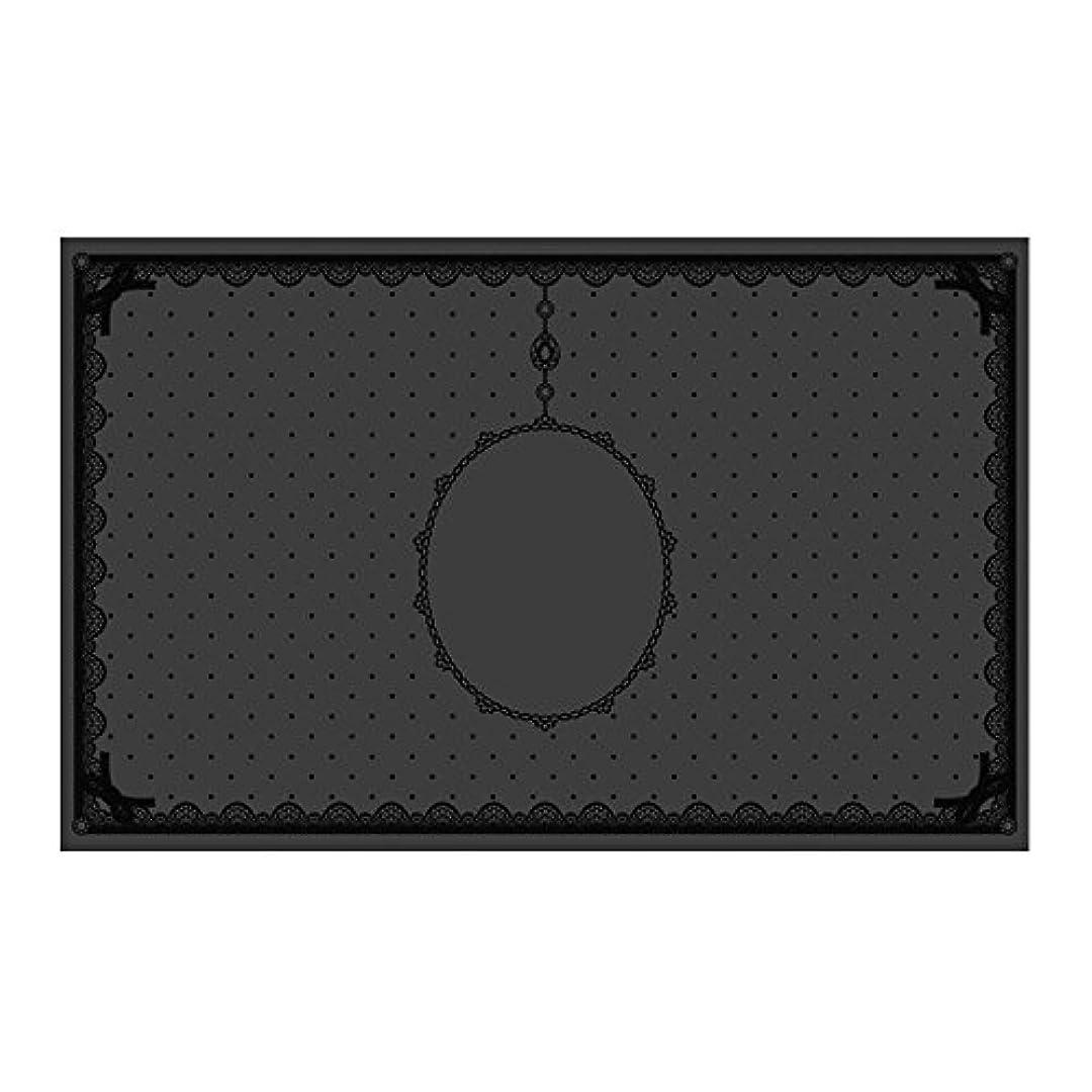 ライブ無意識ハンドブックシリコンマット(表面コート)ブラック