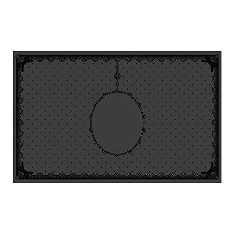電気的アプライアンス地下シリコンマット(表面コート)ブラック