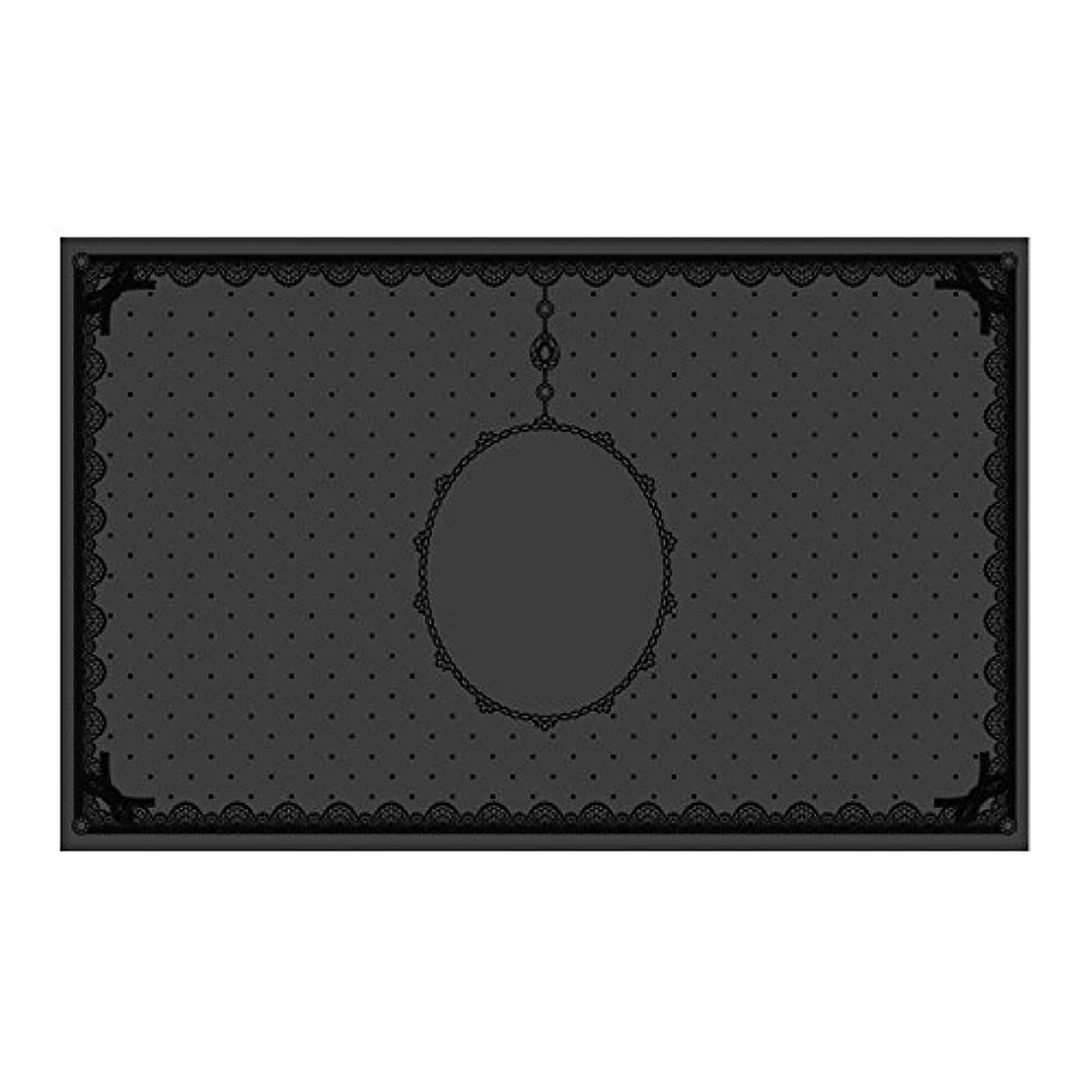 パッケージ政治家租界シリコンマット(表面コート)ブラック