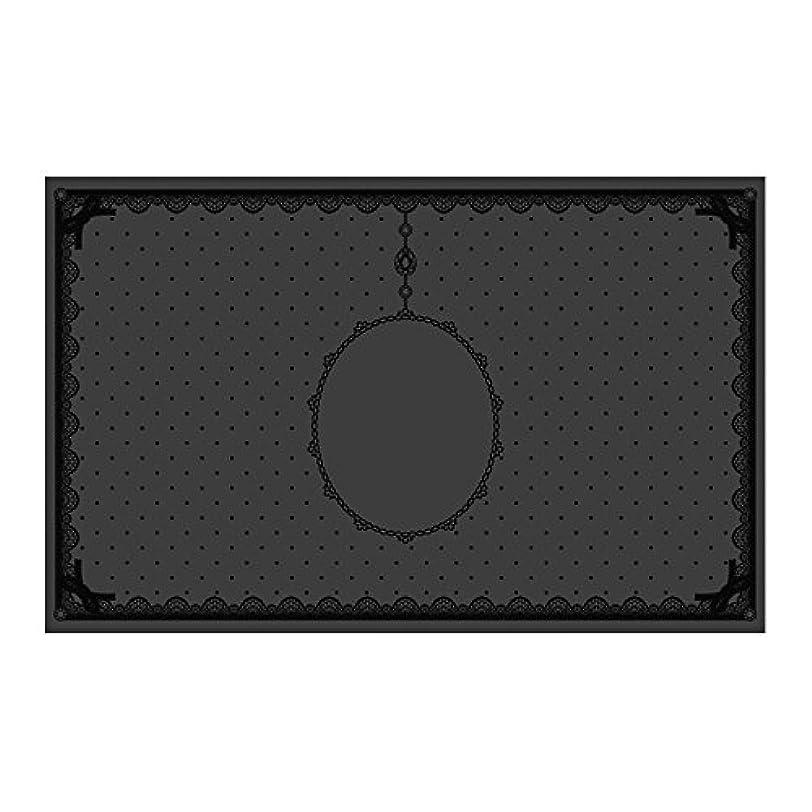 香りボーカルの量シリコンマット(表面コート)ブラック