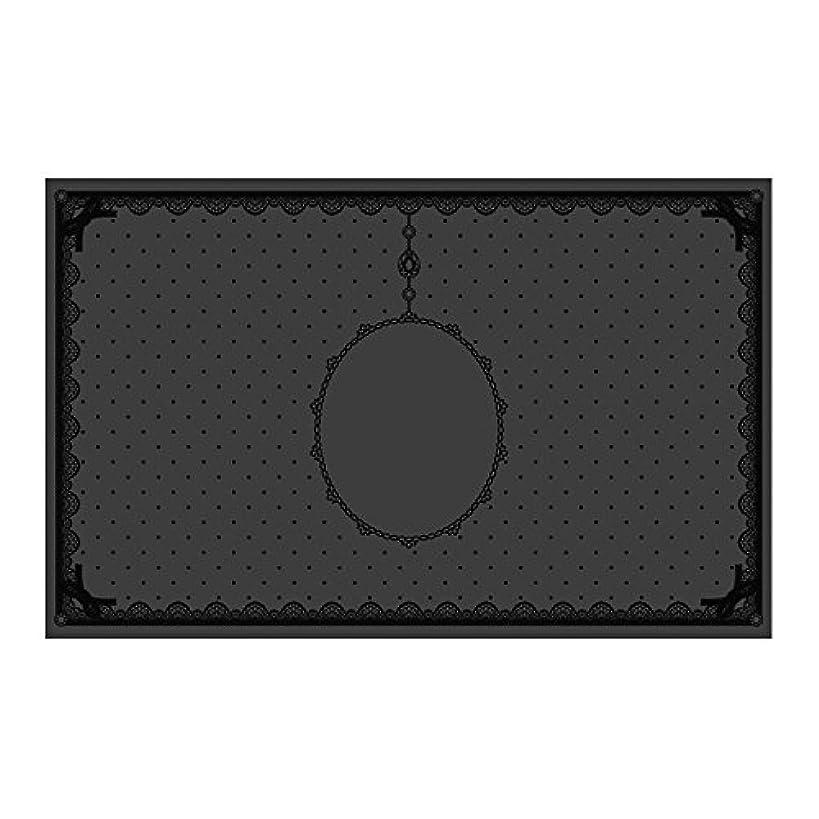 周り責知覚シリコンマット(表面コート)ブラック