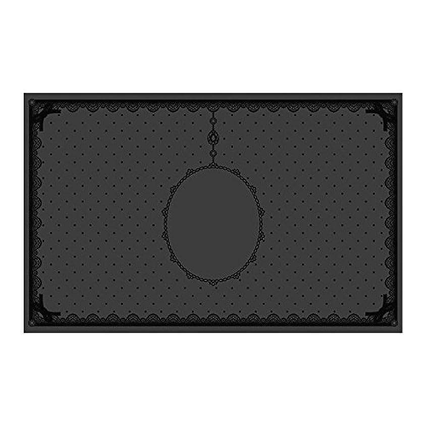 じゃがいも技術統治するシリコンマット(表面コート)ブラック