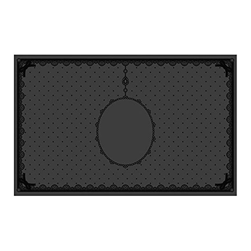 独立して貼り直す積分シリコンマット(表面コート)ブラック