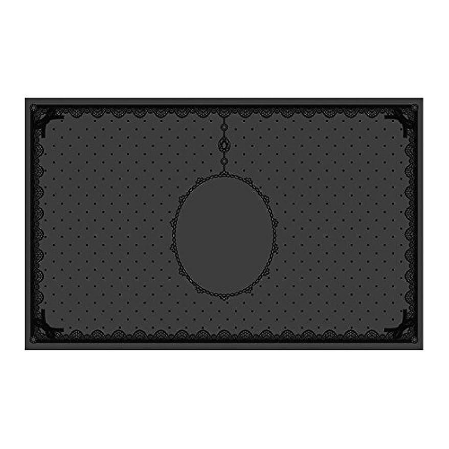 よく話される超音速ひばりシリコンマット(表面コート)ブラック