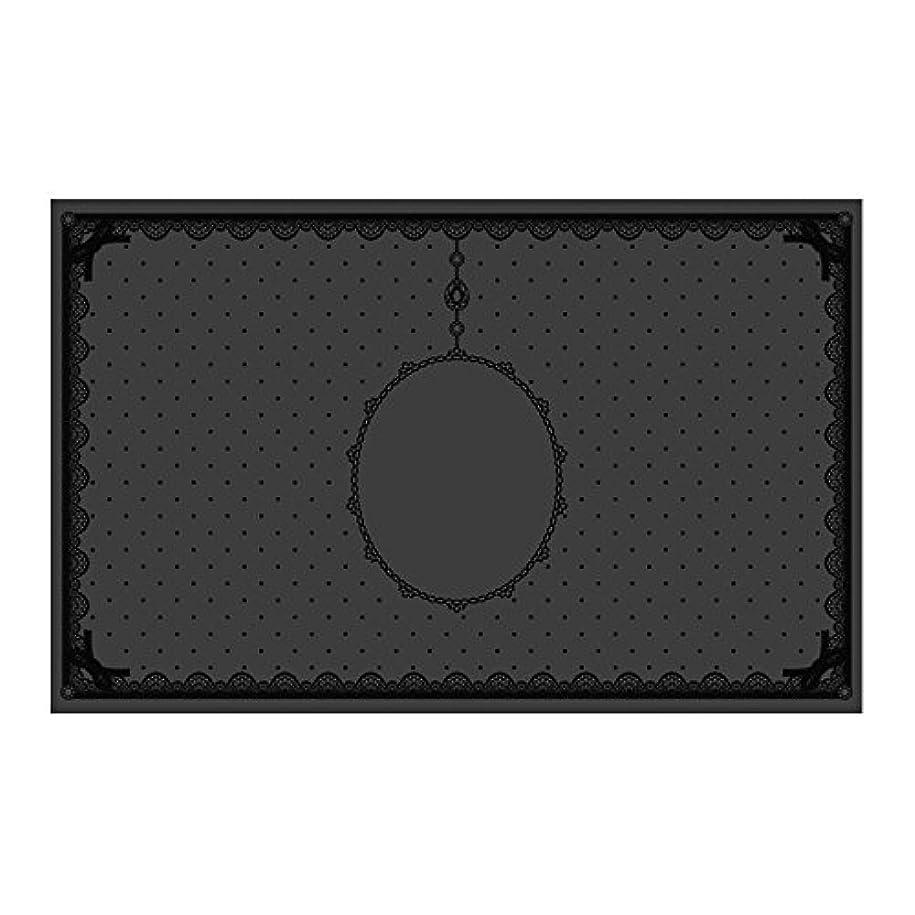 第三ビザ支援するシリコンマット(表面コート)ブラック