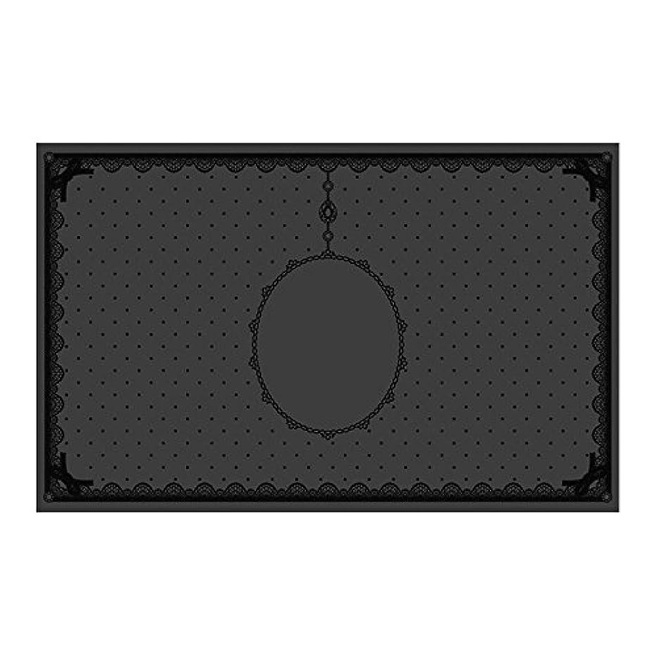 まぶしさ緩やかなウェーハシリコンマット(表面コート)ブラック