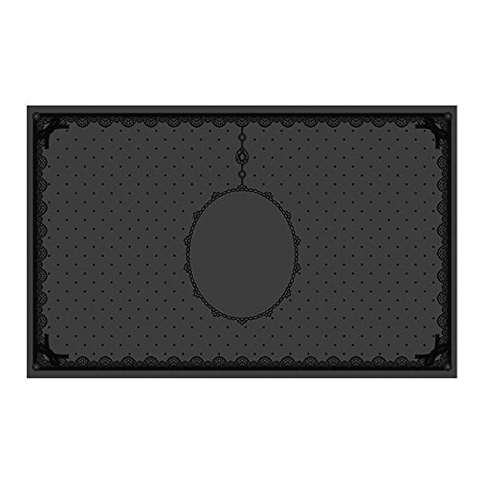 ウォルターカニンガム雲法廷シリコンマット(表面コート)ブラック