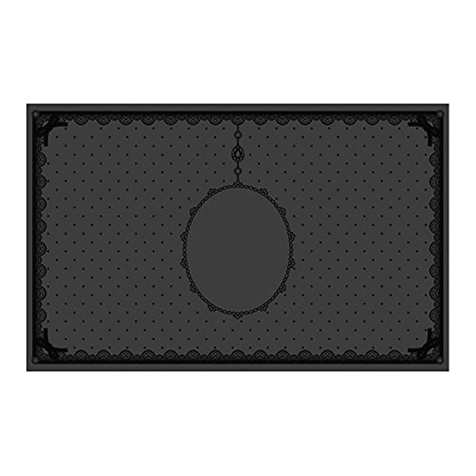 クッションクッション征服者シリコンマット(表面コート)ブラック