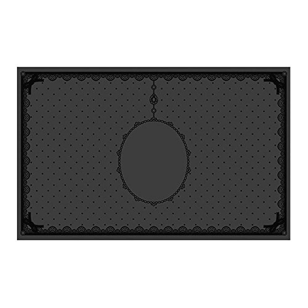 合理的裁判官説明的シリコンマット(表面コート)ブラック
