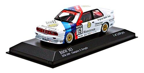ミニチャンプス 1/43 BMW M3 (E30) #15 DTM チャンピオン 1989 ロベルト ラヴァーリア