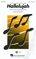Leonard Cohen: Hallelujah (Shrek) - 2-Part. Partitions pour Accompagnement Piano, Choeur En 2-Parties
