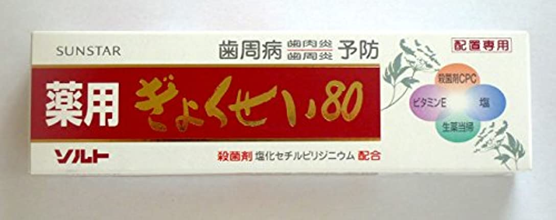 男内陸美徳薬用ソルトぎょくせい80 3本セット サンスター