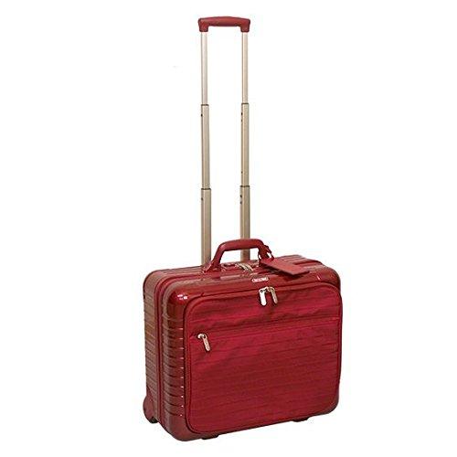 [リモワ] RIMOWA TSAロックモデル 863.502 サルサデラックス ハイブリッド ビジネストローリー 2輪 レッド [並行輸入品]