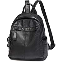 Ladies Fashion Backpack, DRENECO Soft Leather Backpack School Backpack Travel Bag Women Backpack Satchel Handbag Shoulder Bag