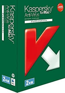 Kaspersky Anti-Virus for Mac 2年版
