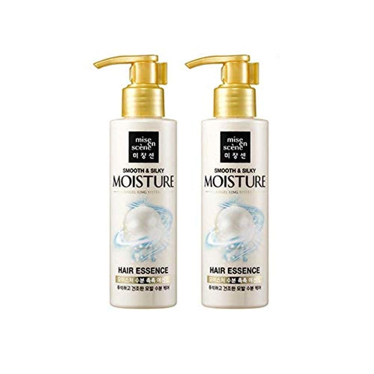 イースター誕生アマチュア[miseenscene] 1+1 ミジャンセン スムース&シルキー モイスチャー ヘアエッセンス 髪の美容液 140ml×2本(smooth&silky moisture hair essence 140ml×2)