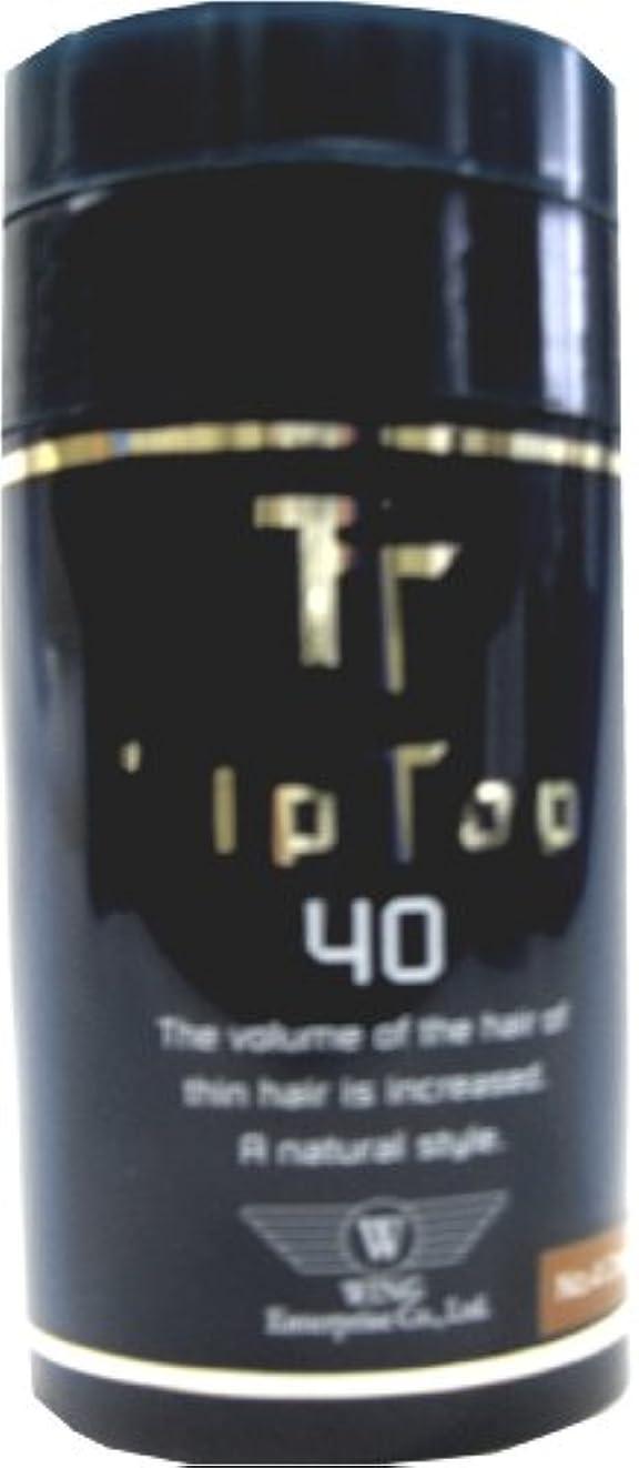外観お酢ウェイトレスウイングエンタープライズ ティップトップ 40 No.3 ライトブラウン 40g