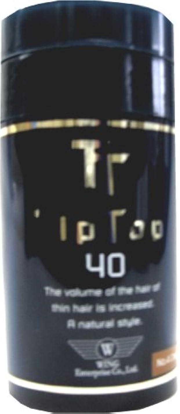 計画的無秩序感情ウイングエンタープライズ ティップトップ 40 No.3 ライトブラウン 40g