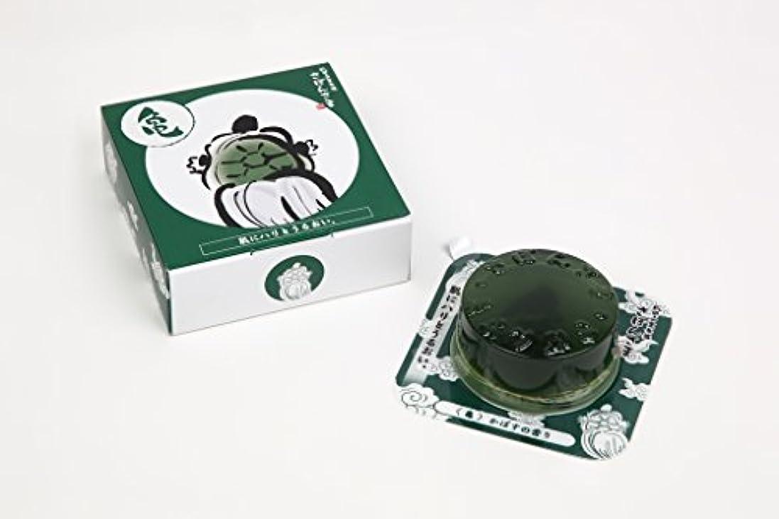 鮮やかな早熟一時的成田山表参道 さぼんさま〈亀〉かぼすの香り 80g
