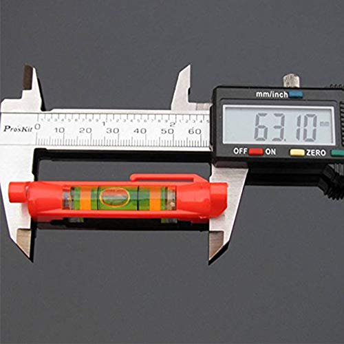 Five Pack of Spirit Line Level by GFNT to Level Measurements of Building Trades, Engineering, Surveying, and Metalworking, Among other Applications