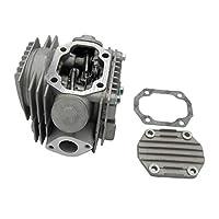 Shiwaki エンジン シリンダー バレル ヘッド キット Lifan 110cc ATVピットプロダートバイク適用