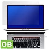 防指紋 防気泡 光沢液晶保護フィルム MacBook Pro 16インチモデル Touch Barシートつき 用 日本製 OverLay Brilliant OBMBP16TB/1