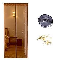 中国風 防蚊 反-プライバシー ポリシー 網戸, 磁気 中国語 ベッド リビング ルーム キッチン 浴室 仕切り幕-E W:95cmXH:200cm