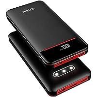 モバイルバッテリー 25000mAh 大容量 急速充電 3個LEDランプ搭載 LEDスクリーン残量表示 2USB入力ポート(2.4A+2.4A) 3USB出力ポート (2.4A+2.4A+2.4A)iPhone/iPad/Android各種対応 地震/災害/旅行/出張/アウトドア活動などの必携品
