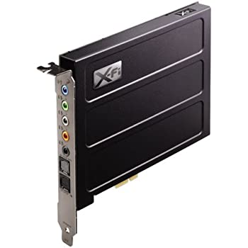 Creative サウンドカード PCI Express Sound Blaster X-Fi Titanium Professional Audio SB-XFT-PA