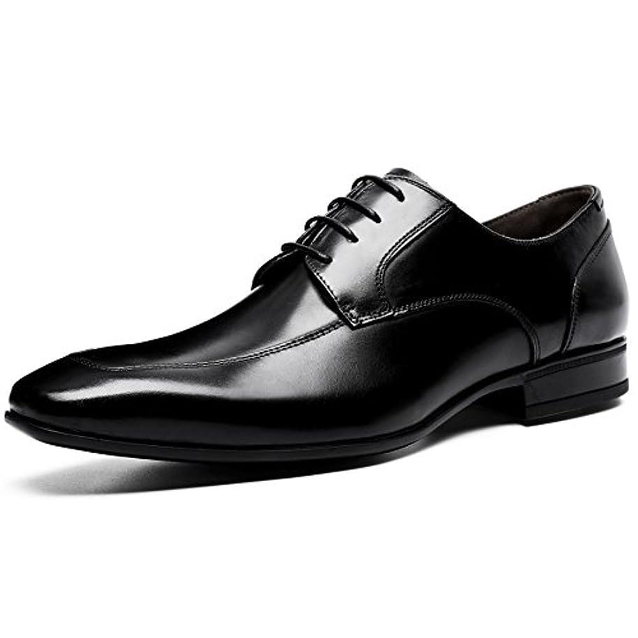 テナント涙何(フォクスセンス) Foxsense ビジネスシューズ 紳士靴 革靴 ロングノーズ 本革
