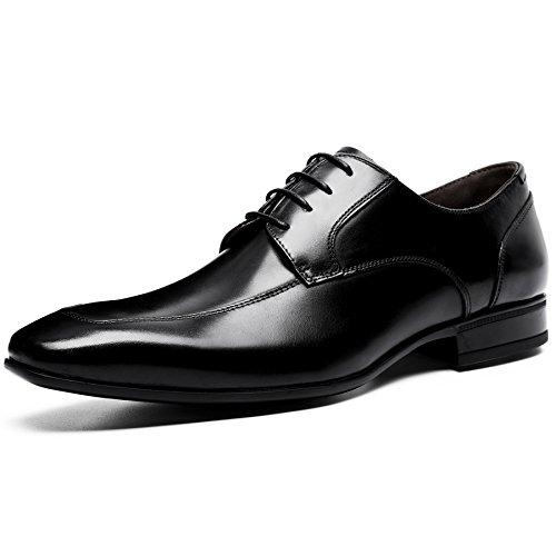 (フォクスセンス) Foxsense ビジネスシューズ 紳士靴 革靴 ロングノーズ 本革 ブラック 26CM 6711