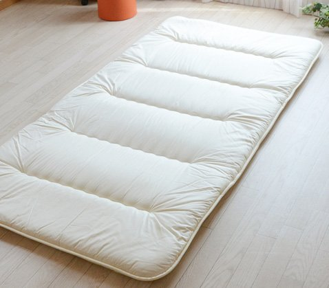 compact folding light futon mattress shikifuton w case made in japan