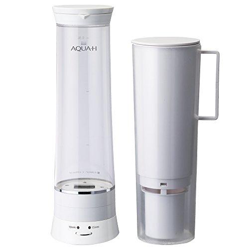 ドウシシャ 水素水生成器 浄水機能付 AQUA-H ホワイト...