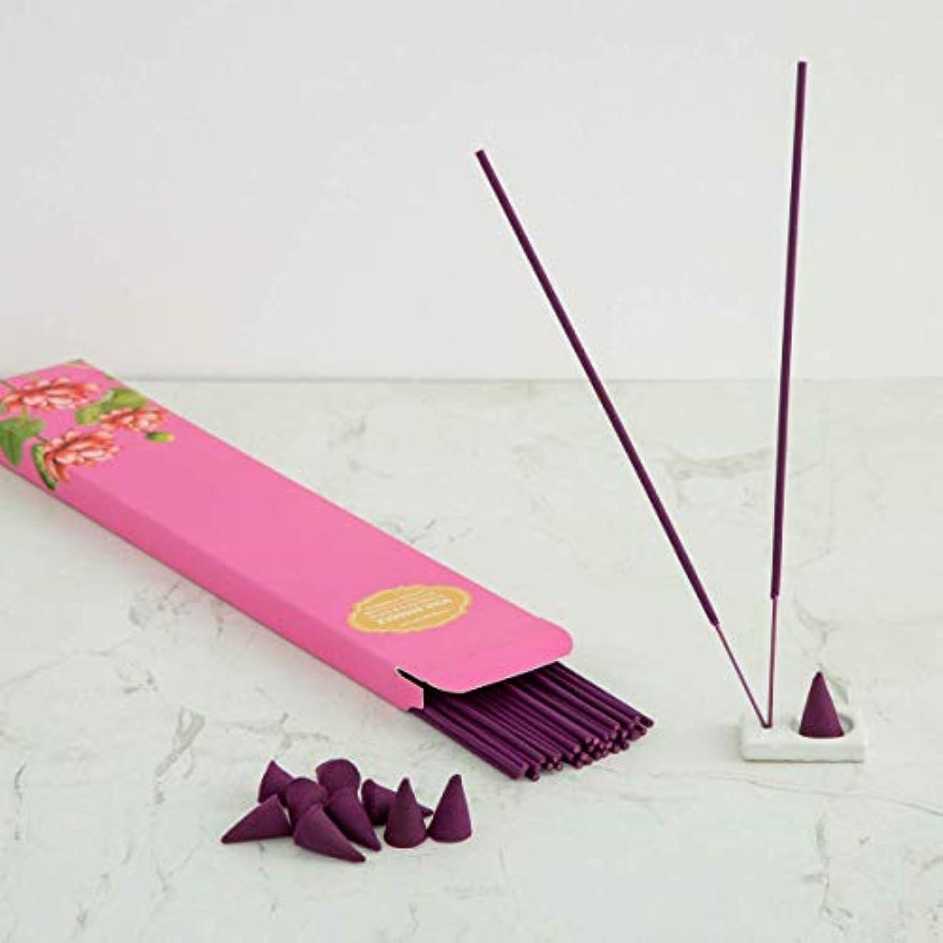 飢饉関係するスケートHome Centre Redolance Chirping Woods Incense Sticks and Cones - Purple
