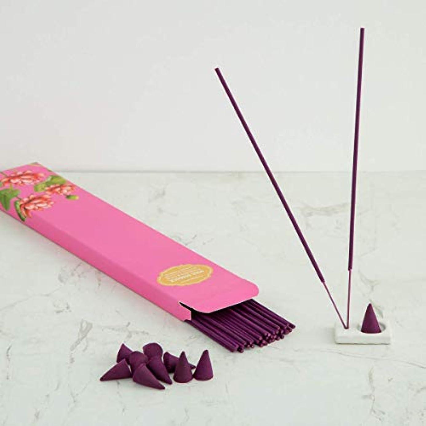 取り除くシビックグリップHome Centre Redolance Chirping Woods Incense Sticks and Cones - Purple